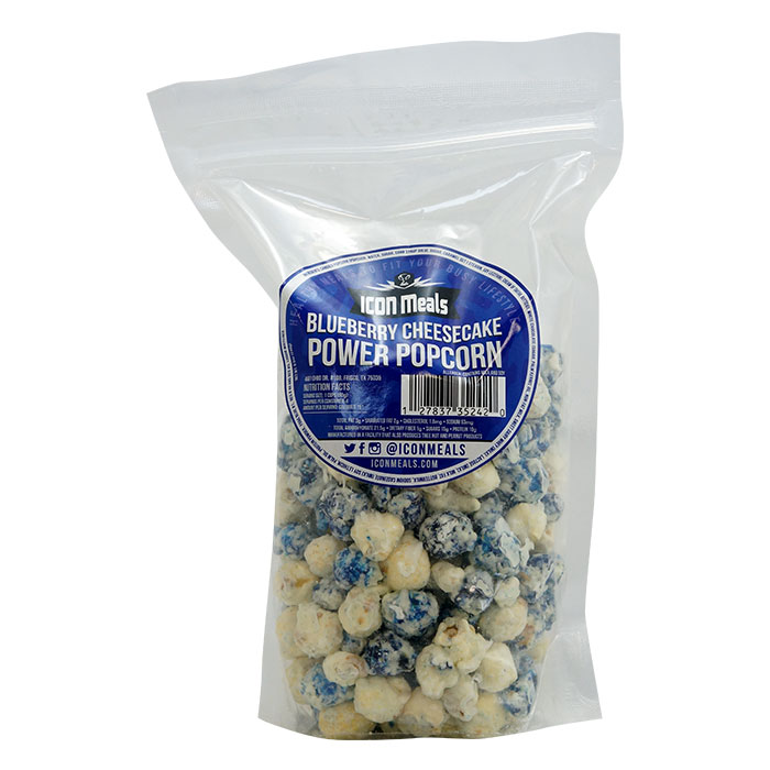 Image of Icon Meals Protein Popcorn 240g Blueberry Cheesecake