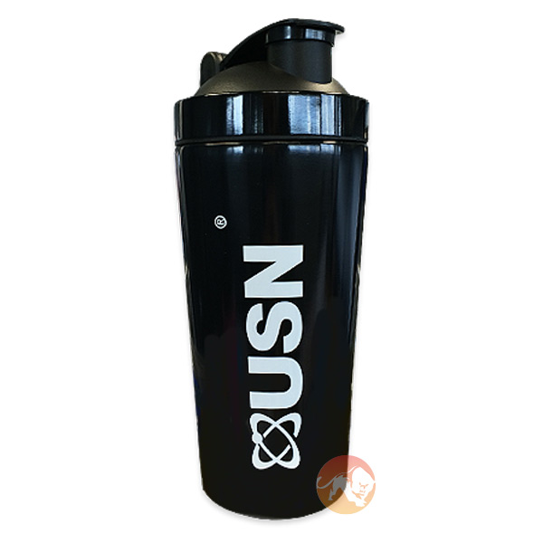 USN Stainless Steel Shaker 700ml Black