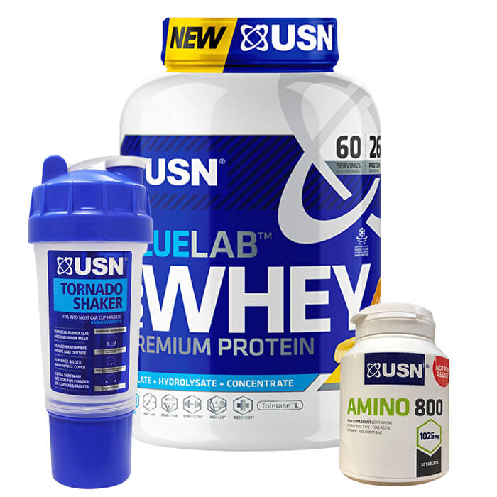 Image of USN Blue Lab 100% Whey 2kg Chocolate