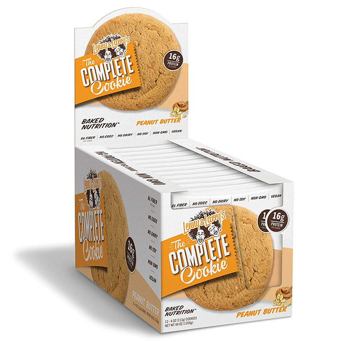 Image of Lenny & Larry's Complete Cookie 12 Pack Peanut Butter