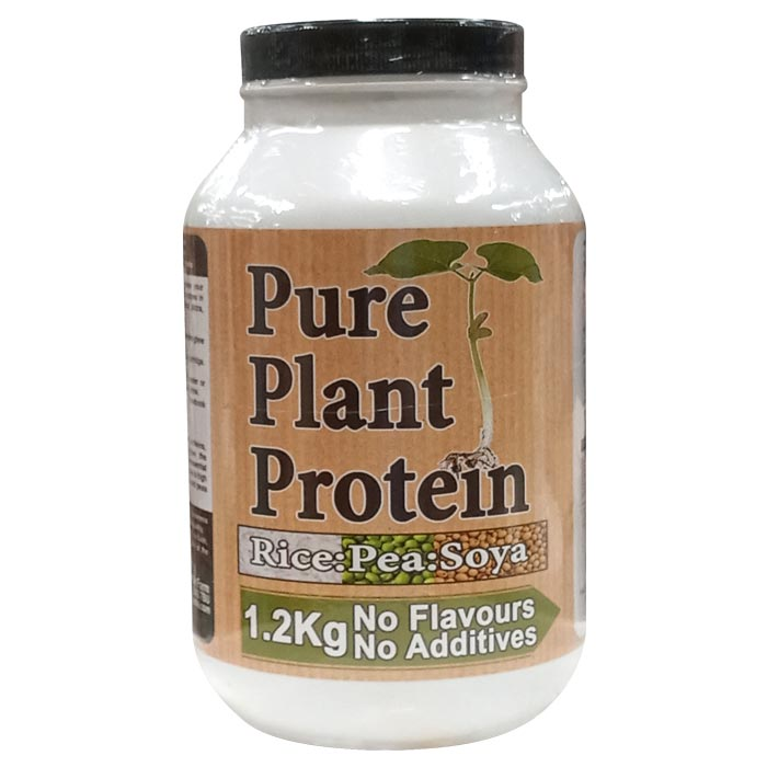 Image of Nutrisport Pure Plant Protein 1.2kg Unflavoured