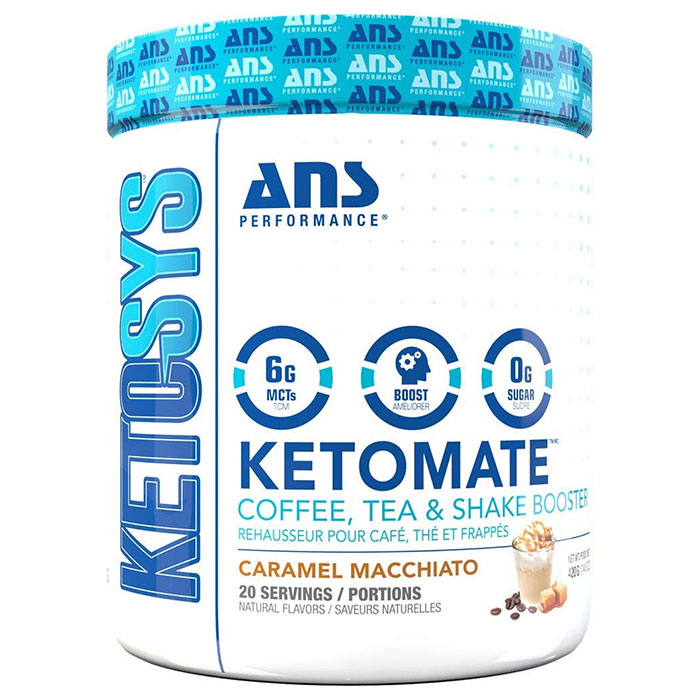 Image of ANS Performance Ketomate 20 Servings Caramel Macchiato