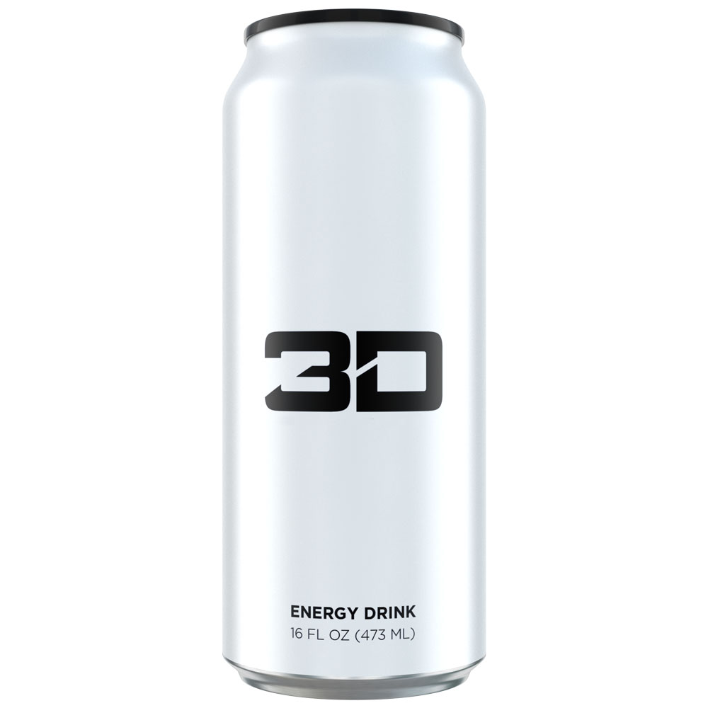 Image of 3D Energy 3D Energy Drink 1 Can White