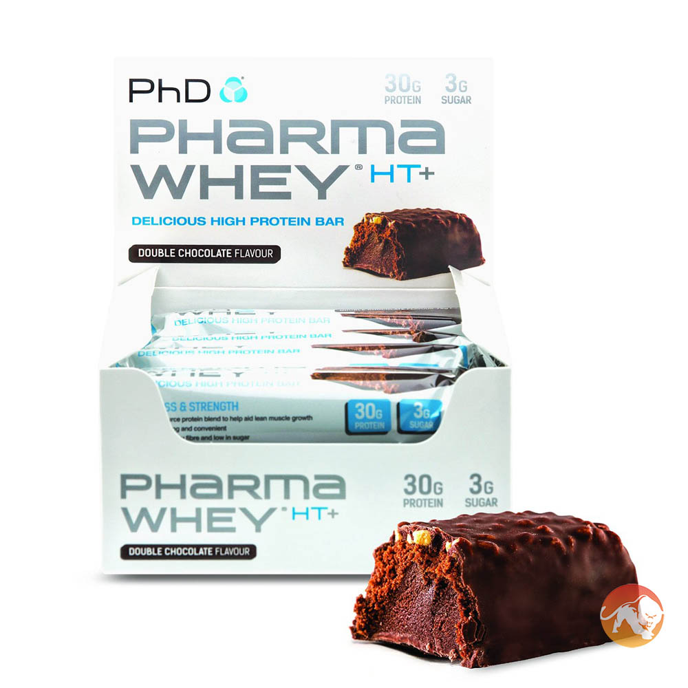 Pharma Whey HT+ 12 Bars Chocolate Peanut