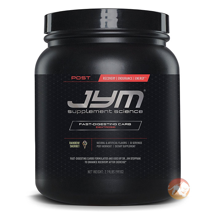 Post JYM Carb 30 Servings Rainbow Sherbert