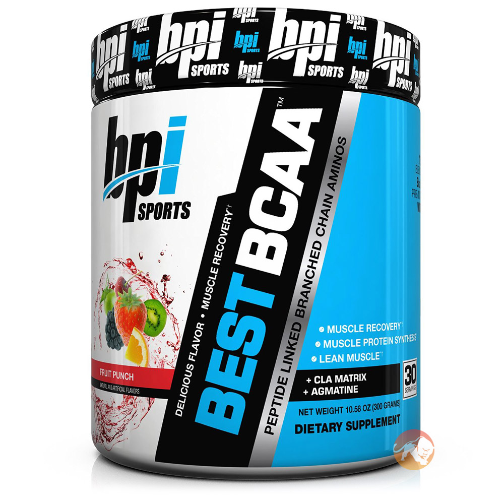 Best BCAA 60 Servings Peach Cobbler