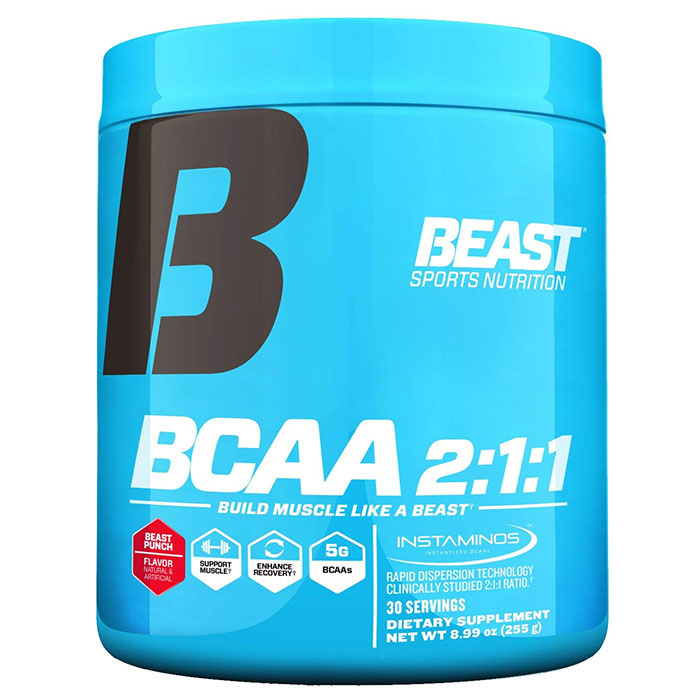 Image of Beast Sports Nutrition Beast BCAA 2:1:1 30 Servings Beast Punch