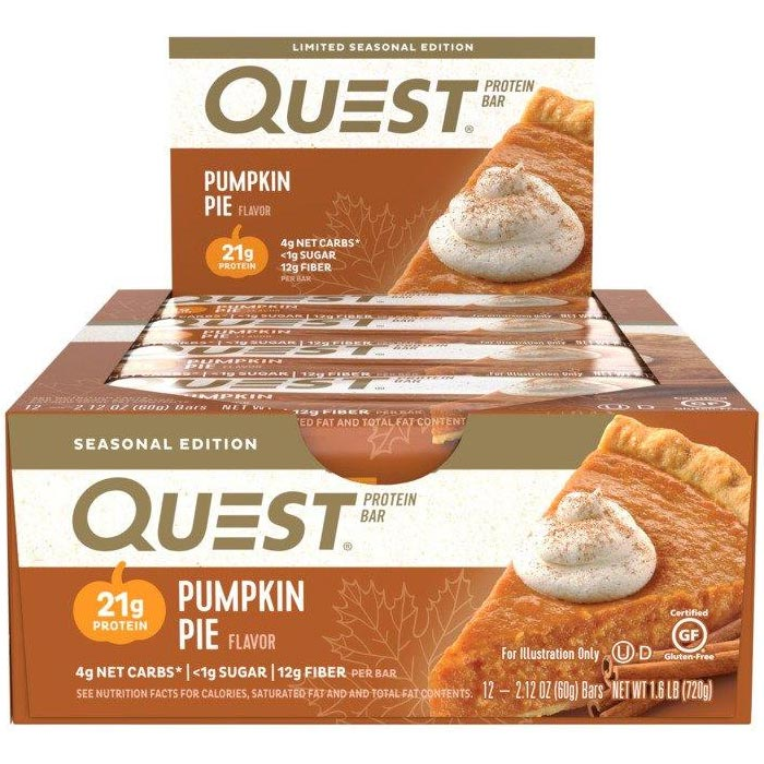 Quest Bars 12 Bars Pumpkin Pie