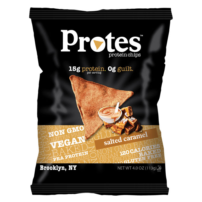 Image of Protes Protes Protein Chips 113g Salted Caramel