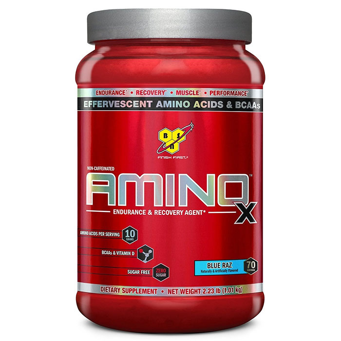 Image of BSN Amino X 70 Servings Blue Raspberry