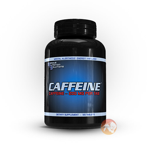 Image of Serious Nutrition Solutions Caffeine 120 Tabs