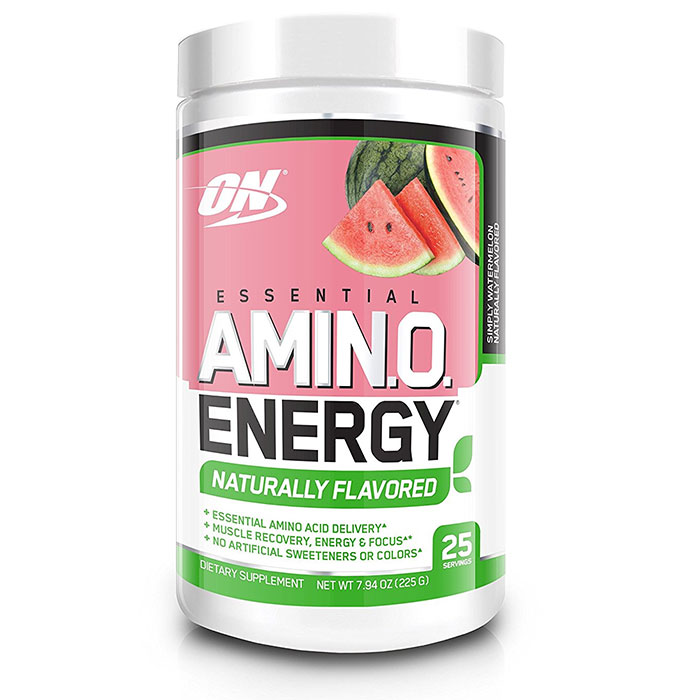 Amino Energy Naturally Flavoured 25 Servings Simply Watermelon