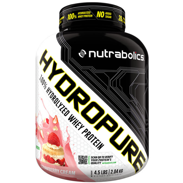 Image of Nutrabolics Hydropure 2.04kg Strawberry Cream