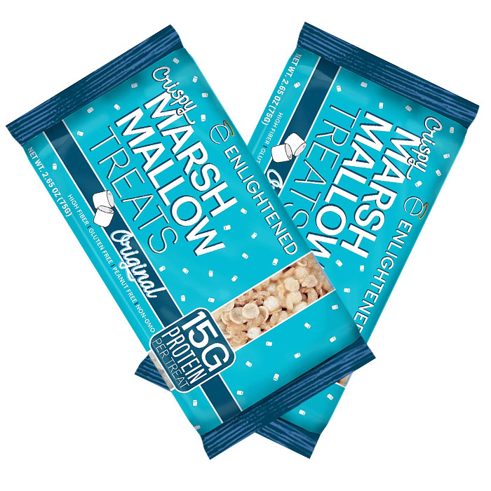 Crispy Marshmallow Treats 2 Pack Original