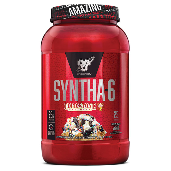 Syntha-6 Cold Stone Creamery 9 Servings German Chocolate Cake