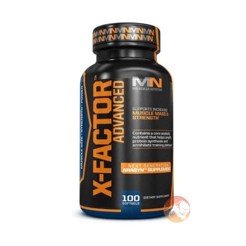 Image of Molecular Nutrition X-Factor Advanced 100 Sgels