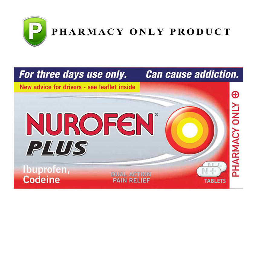 Image of Pharmacy Medicines Nurofen Plus 24 Tablets