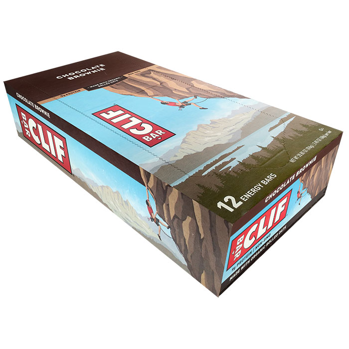 Clif Bar 12 Bars Chocolate Brownie
