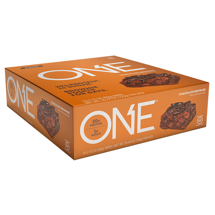 Image of Oh Yeah Nutrition Oh Yeah One Bar 12 Bars Chocolate Brownie