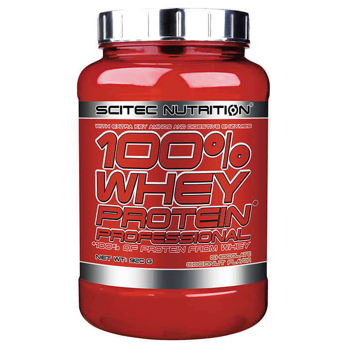 100% Whey Protein Professional 920g Chocolate Coconut