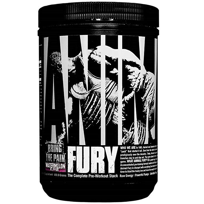 Image of Universal Nutrition Animal Fury 20 Servings Watermelon
