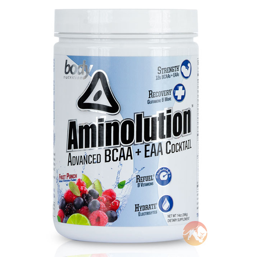 Aminolution 30 Servings Green Apple