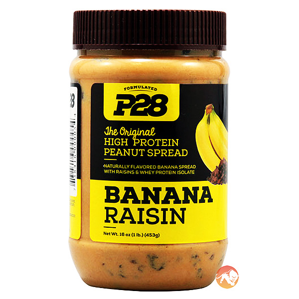 Image of P28 Banana Raisin High Protein Spread 453g (1lb)