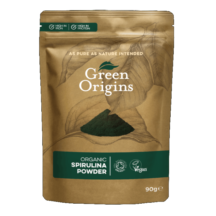 Image of Green Origins Organic Spirulina Powder 225g