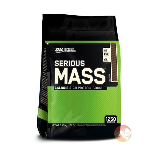 Serious Mass 6lb - Strawberry