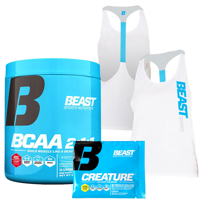 Beast BCAA 2:1:1 30 Servings Tropical Breeze