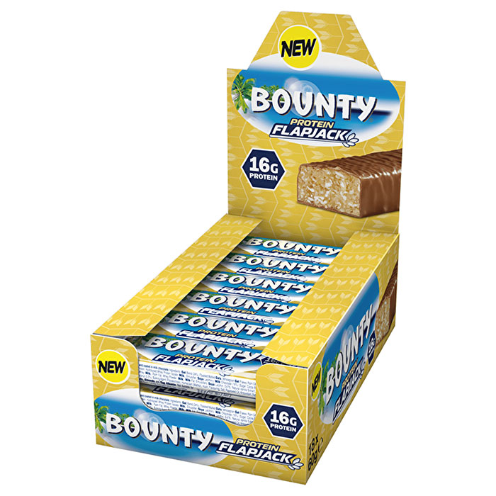 Image of Mars Bounty Protein Flapjack 18 Bars