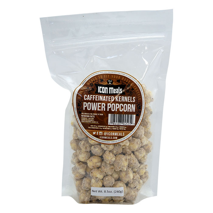 Image of Icon Meals Protein Popcorn 240g Caffeinated Kernals
