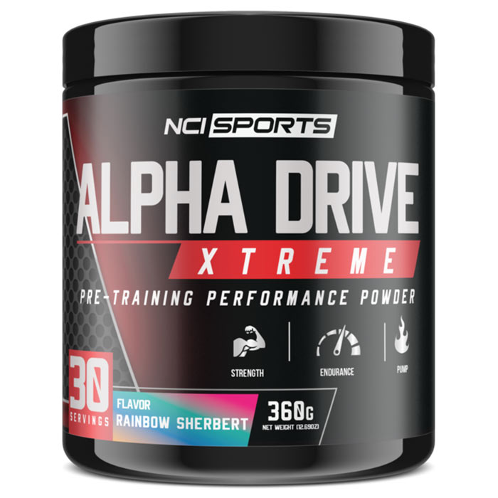 Image of NutraClipse Alpha Drive Xtreme 30 Servings Cotton Candy