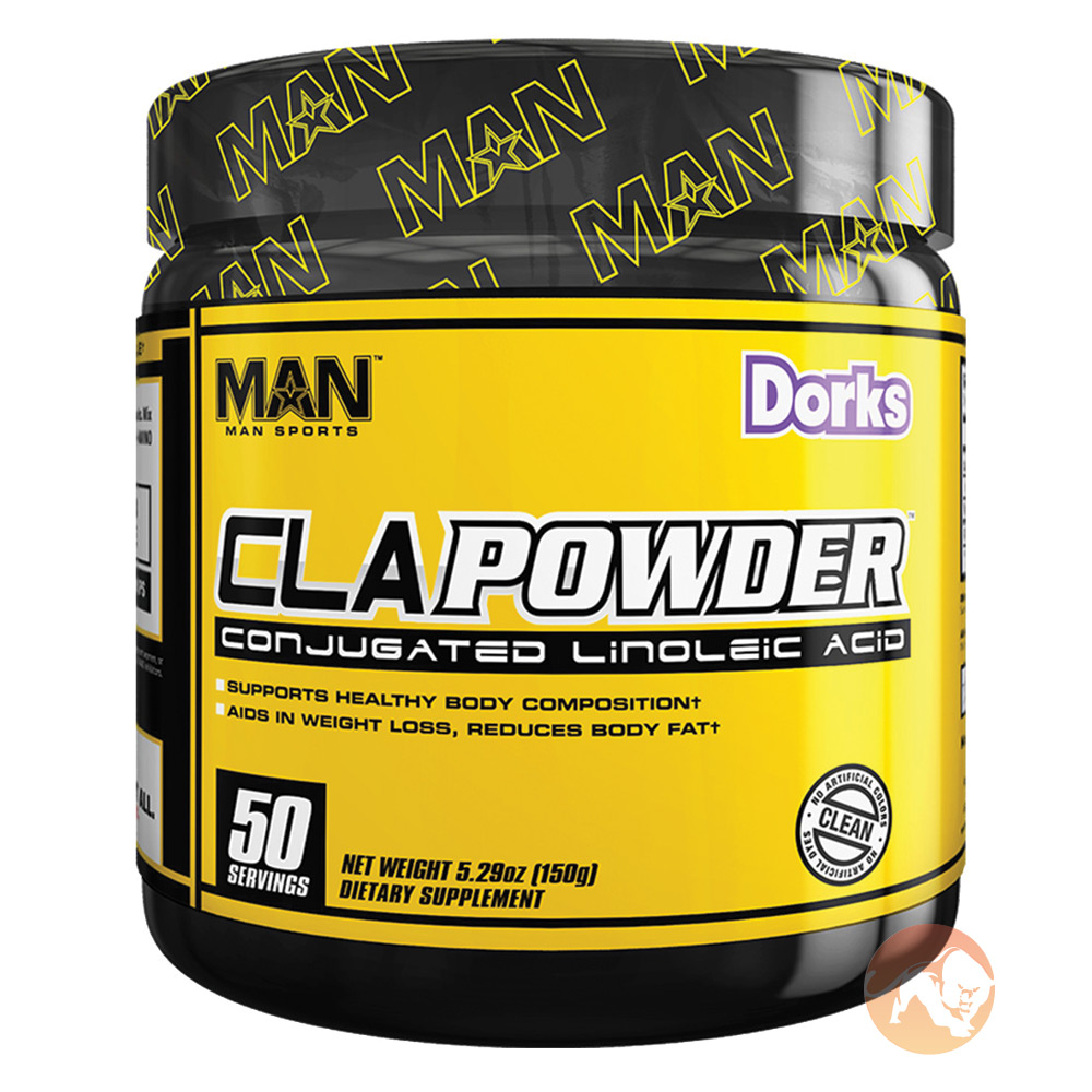 Image of Man Sports CLA Powder 50 Servings Dorks