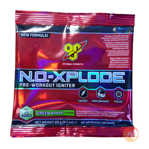 No-Xplode 3.0 Single Serving - Green Apple