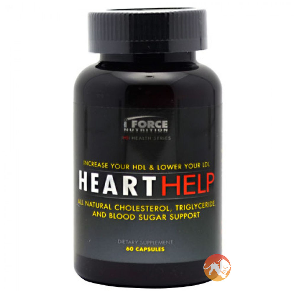 Image of IForce Nutrition Heart Help 60 Caps