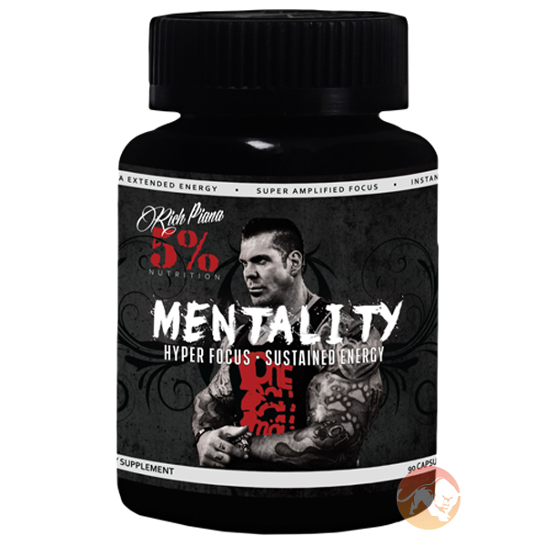 Image of 5% Rich Piana Mentality 90 Capsules