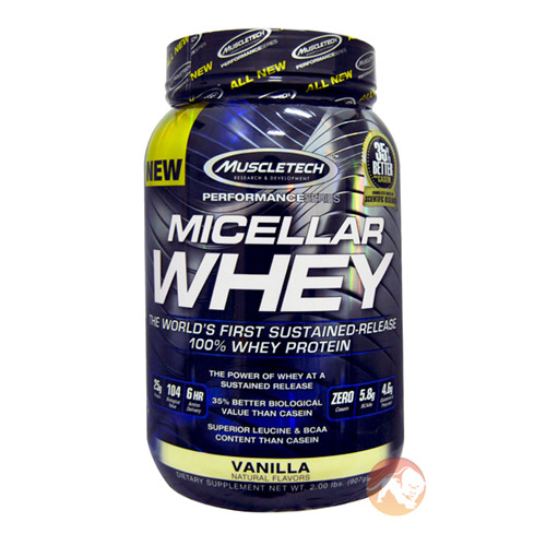 Image of Muscletech Micellar Whey 907g Milk Chocolate
