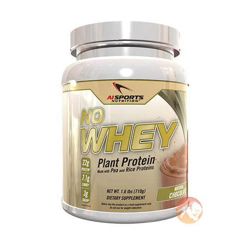 Image of AI Sports Nutrition No Whey! Protein 1kg-Candy Cane
