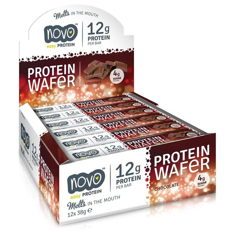 Protein Wafer 12 Bars Chocolate Peanut Butter