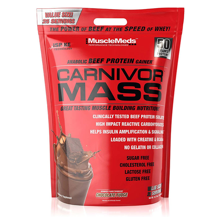 Carnivor Mass 4.6kg Chocolate Fudge