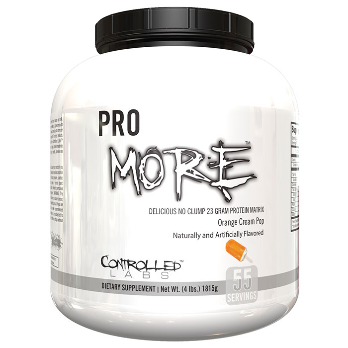 Pro More 55 Servings Frosted Cinnamon Bun