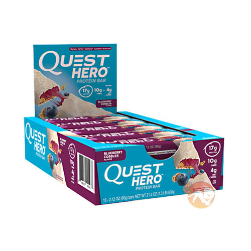 Quest Hero Bar 10 Bars Vanilla Caramel