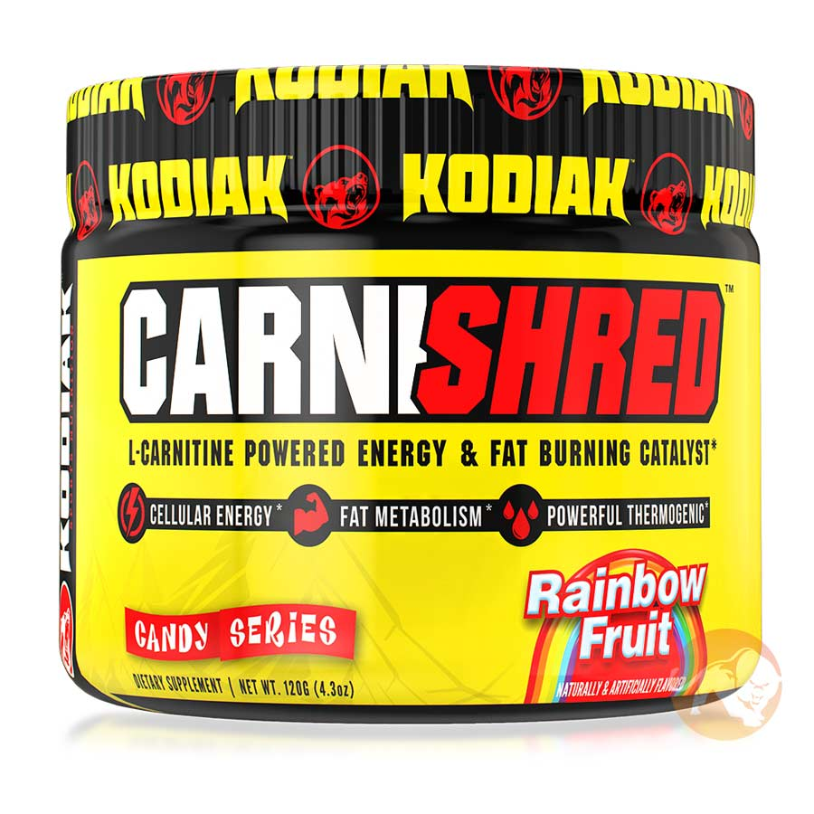 Image of Kodiak CarniShred 60 Servings Rainbow Fruit