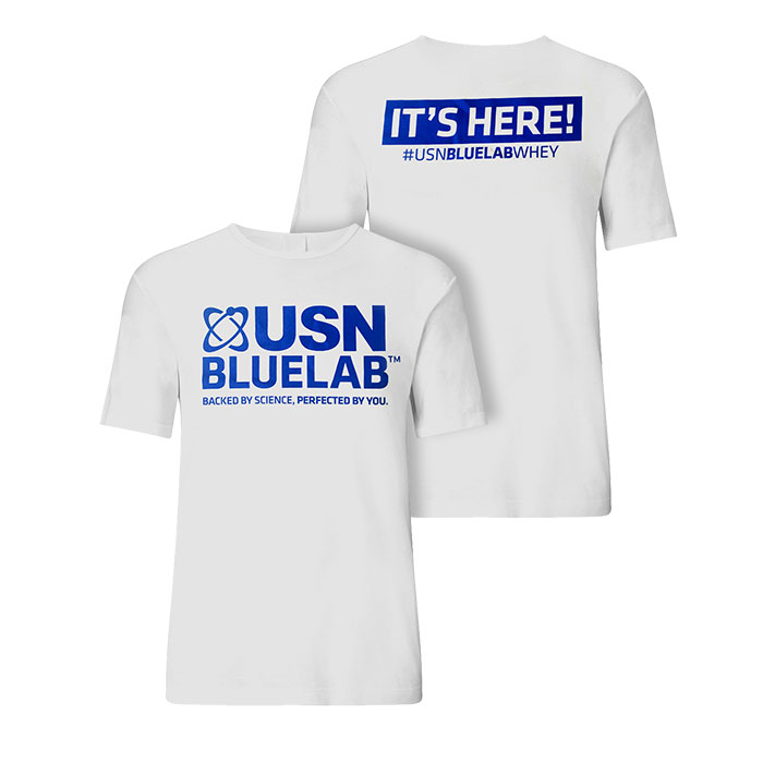 Image of USN USN Blue Lab T Shirt M