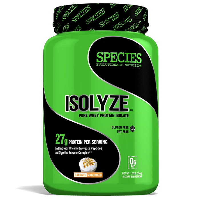 Image of Species Nutrition Isolyze 22 Servings Caramel Macchiato