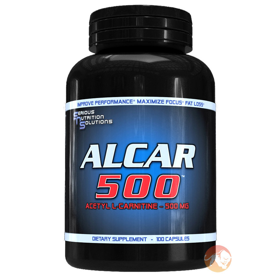 Image of Serious Nutrition Solutions Alcar-500 100 Caps