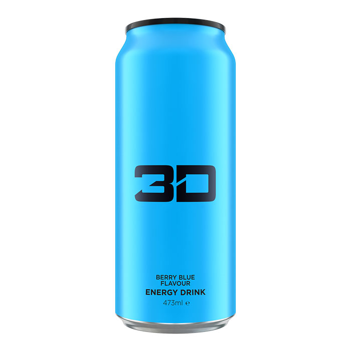 Image of 3D Energy 3D Energy Drink 1 Can Blue