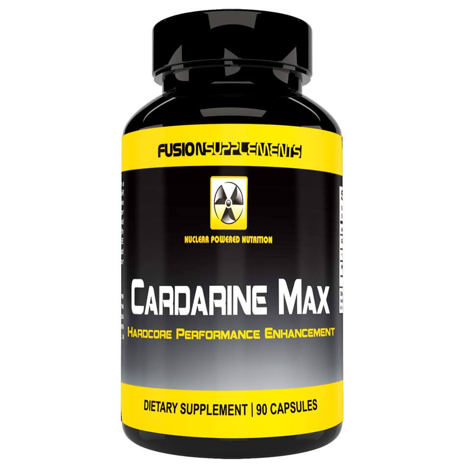 Image of Fusion supplements Cardarine Max 90 Capsules