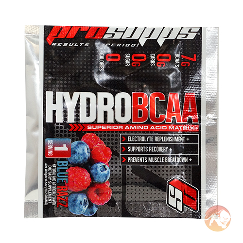 Image of ProSupps Prosupps Hydro BCAA Trial Serving Blue Razz